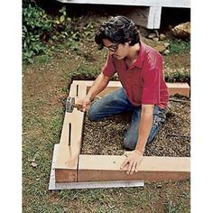 house flower boxes 15129348735316328 - Build an attractive wooden raised flower box in just a day with help from This Old House. See plans and instructions for this DIY raised planter box online. Source by Plants For Raised Beds, Raised Flower Beds, Raised Garden Beds, Raised Gardens, Wooden Flower Boxes, Landscaping On A Hill, Landscaping Rocks, Luxury Landscaping, Landscaping Software