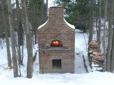 DIY Outside Pizza Oven (16 pics)