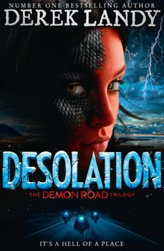 Desolation by: Derek Landy is on sale May 24th! Desolation is book two in the mind-blowing new supernatural thriller from bestselling author Derek Landy, author of Skulduggery Pleasant.