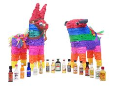 Nipyata, Customizable Adult Piñatas Pre-Filled With Tiny Bottles of Booze and Lots of Candy