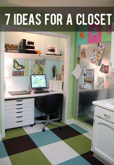 7 DIY Ideas to Transform Your Closet and Get Organized! #howdoesshe #closetorganization #organization #diy