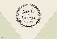 save the date-Custom Wedding Rubber Stamp by TheOneRubberStamps