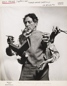 The Versatile Jean Cocteau, 1949 Philippe Halsman