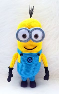 Crochet Minion amigurumi Despicable Me 2 Pattern