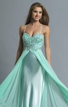 Beaded Drape Gown by Dave and Johnny 980