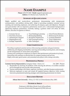Your resume defines your career. Get the best job offer with a professional resume written by a career expert. Our resume writing service is your chance to get a dream job! Get more interviews today with our professional resume writers. Customer Service Resume Examples, Resume Summary Examples, Professional Resume Writing Service, Professional Resume Samples, Customer Service Jobs, Resume Writing Services, Resume Skills, Resume Tips, Cv Examples