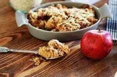 Πανεύκολη vegan μηλόπιτα με 3 μόνο υλικά Vegan Recipes, Cooking Recipes, 3 Ingredients, Oatmeal, Artisan, Breakfast, Sweet, Food, Cereal