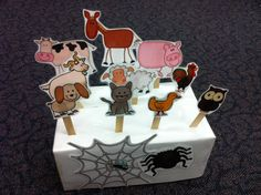 How I used The Very Busy Spider printables in PreK... (free printables: http://pinterest.com/pin/51509989462759527/)