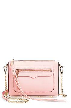 Pretty pale pink Rebecca Minkoff bag.