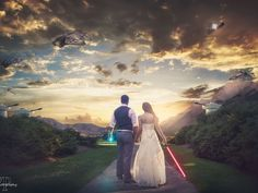 star wars themed wedding photo - Google Search