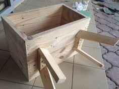 Bedside Pallet Table Desks & Tables