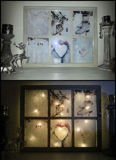 Today I'll show you that the old windows are still useful and you can recycling them in a many ways!--more--> Sources: Window Frame J. Old Window Frames, Window Art, Window Ideas, Window Panes, Vintage Windows, Old Windows, Diy Design, Old Window Projects, Recycled Windows