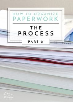 This easy and systematic process will help you sort through and create order of all the paperwork in your home! Organizing Paperwork, Clutter Organization, Home Organization Hacks, Paper Organization, Organizing Tips, Organizing Labels, Agenda Organization, Decluttering Ideas, Organisation Ideas