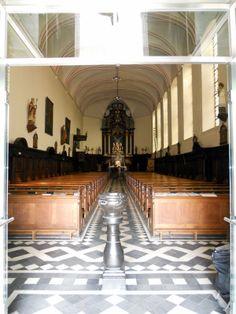 Interieur barokke Sint Michielskerk Sittard (foto 2012)
