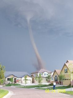 My photo. Tornado by our house, 2008. Parker, CO.
