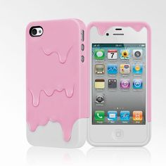 Fancy - Cute case for iPhone 4 and iPhone 4S that looks like melting colors. - Cute iPhone Cases