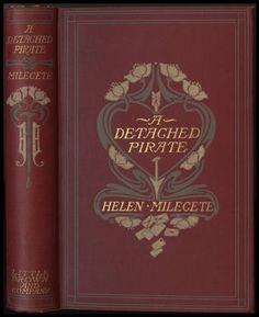 Amy Sacker. A detached pirate : the romance of Gay Vandeleur [binding] :: American Publishers Trade Bindings