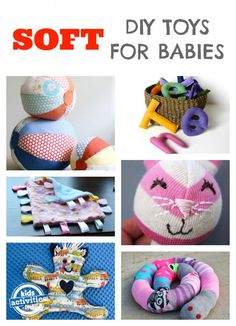 homemade soft toys for babies