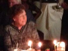Aunt Katie Hamilton on her 90th Birthday