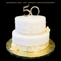 50th wedding anniversary cakes | Special Cakes | Edward A. Jones Photography & Katherines Cakes
