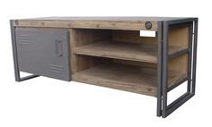 Industrieel TV meubel, audio meubel, tv dressoir industrieel. Direct uit voorraad leverbaar in de afmetingen 130 cm , 180 cm, 220 cm. http://www.happy-home.nl/shop/industriele-meubelen/industrieel/industrial-tv-dressoir-130cm-detail.html