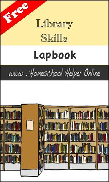 Library Skills Lapbook - this site has tons of free lap books.
