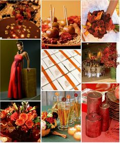 Autumn Wedding Reception Ideas
