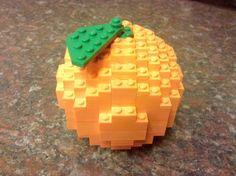 LEGO orange YUM!