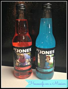 Personalized My Jones Soda | Review   A Giveaway
