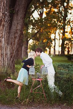 perfect say.. if you waited for your man on a mission? ;) this is going to be one of my engagement pictures!!