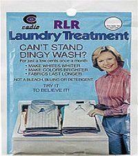 RLR Laundry Treatment IDR 40.000  Digunakan saat clodi memerlukan pembersihan dari sisa-sisa detergen dan membantu clodi menjadi lemas kembali. Bisa digunakan untuk melemaskan dan memperindah baju-baju anda.