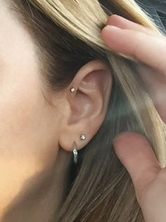 My new forward helix piercing