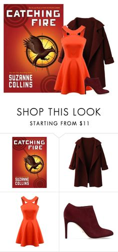 Catching fire - Suzanne Collins by ninette-f on Polyvore