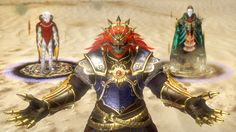 Hyrule Warriors: The villains are playable! #Ganondorf #Ghirahim #Zant