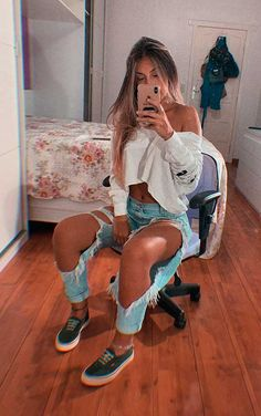 Tumblr Outfits, Girl Outfits, Fashion Outfits, Tumblr Clothes, Womens Fashion, Urban Fashion, Fashion Looks, Bad Girl Aesthetic, Cute Casual Outfits