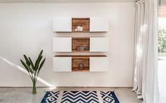 Wall-Mounted 3 x Shelf by LAXseries (Environmental)