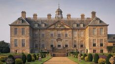 Belton House is a classic 17th century English country house is set in delightful gardens with a magnificent deer park.