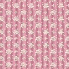 Tilda Spring Diaries Fabric Emily Pink