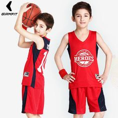 Camisetas de baloncesto para niños personalizadas para niño niña juego de deportes  Jerseys jóvenes equipo de 1fb63109d848
