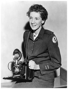 Toni Frissell (March 10, 1907 - April 17, 1988). In 1941, Frissell volunteered her photographic services to the American Red Cross. Later she worked for the Eighth Army Air Force and became the official photographer of the Women's Army Corps. On their behalf, she took thousands of images of nurses, front-line soldiers, WACs, African-American airmen, and orphaned children.