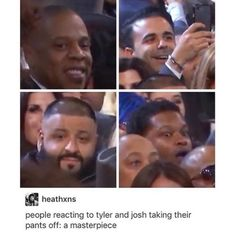 All four of those reactions were me when this happened
