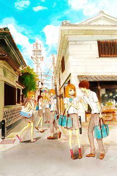 Orange   Takano Ichigo   TMS Entertainment / Takamiya Naho, Naruse Kakeru, Hiroto Suwa, Murasaka Azusa, Chino Takako, and Hagita Saku / Shoujo Manga Pictures on Tumblr