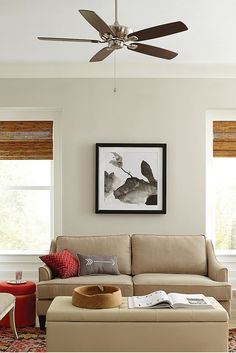 Silhouette And Multiple Finish Mounting Options Of The Colony Max Ceiling Fan By Monte Carlo Make It A Universal Choice For Any Décor Room Size