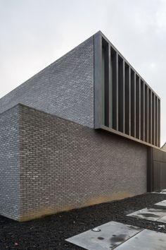 """cubontinism: """"Pascal François Architects - 1111 House Erembodegem Fotos ©…"""