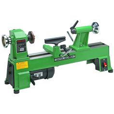 10 In. X 18 In. 5 Speed 1/2 Hp Benchtop Wood Lathe