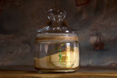 Food Storage Apothecary jar