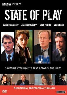 David Morrissey, James McAvoy, Bill Nighy and John Simm in State of Play, 2003 Kelly Macdonald, John Simm, Rachel Mcadams, Ben Affleck, Detective, Bill Nighy, David Morrissey, State Of Play, Bbc Tv