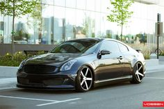Infinity G35 on VVSCV3 Wheels, I don't like the wheels but the car yes.
