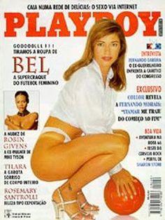 Bel - Playboy Magazine Cover [Brazil] (July 1995)
