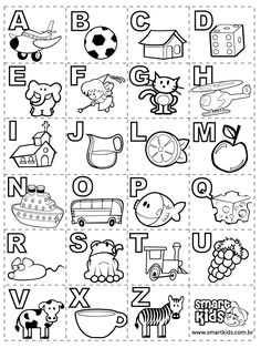 Alfabeto para imprimir Mais